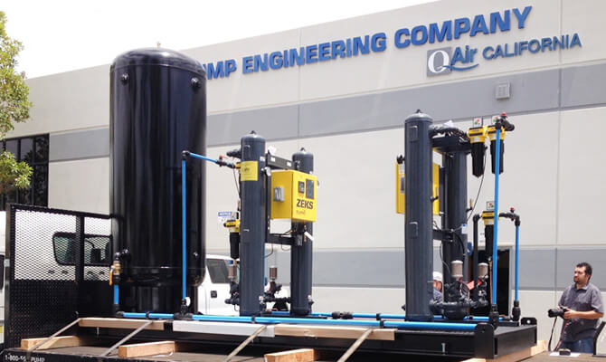 Industrial Compressed Air Units, Fabrication and Repair Services