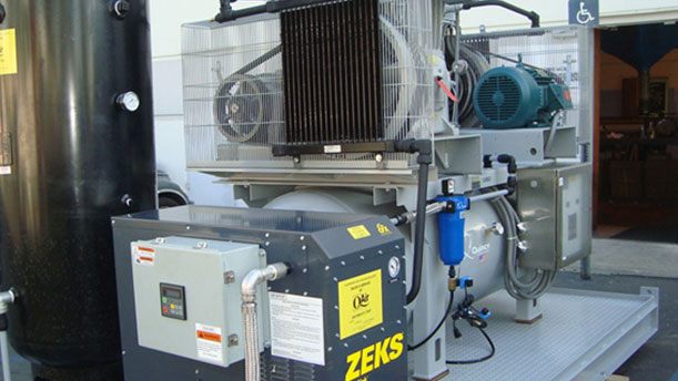 industrial air compressors new equipment sourcing