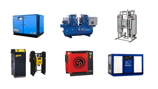 industrial air compressor shop