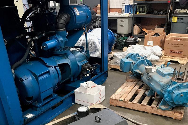 Ship it & We'll FIX It! Industrial Air Compressor Repair