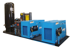 Custom Fabricated Skid Units, Industrial Compressed Air Equipment