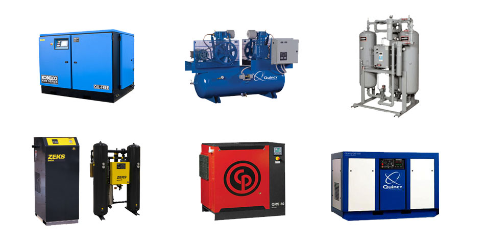 Brands We Carry | Industrial Air Compressor Distributor, Q Air-California