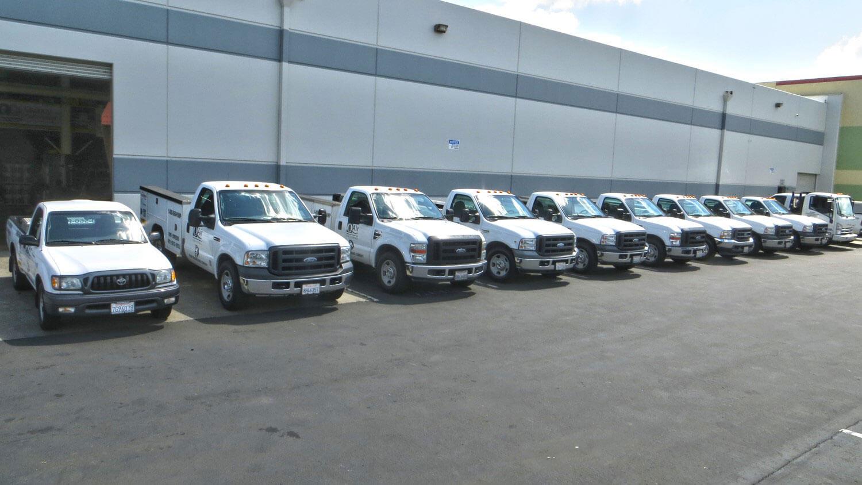 Q Air-California Industrial Air Compressor Service Fleet
