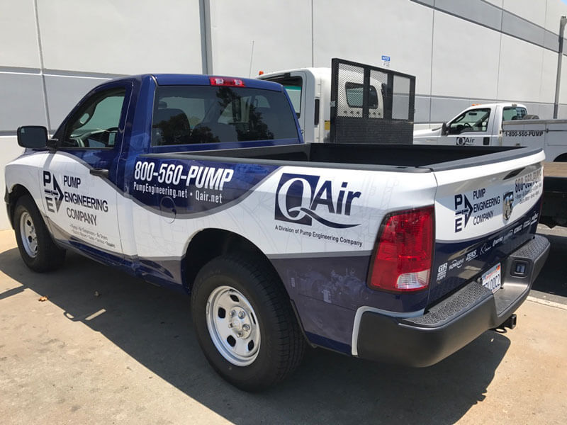 Industrial Air Compressor Service Truck
