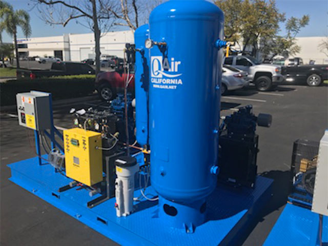 quincy air compressor distributor